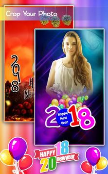 New Year Photo Frames 2018 screenshot 1