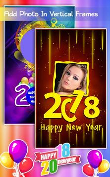 New Year Photo Frames 2018 screenshot 2