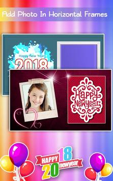 New Year Photo Frames 2018 screenshot 5