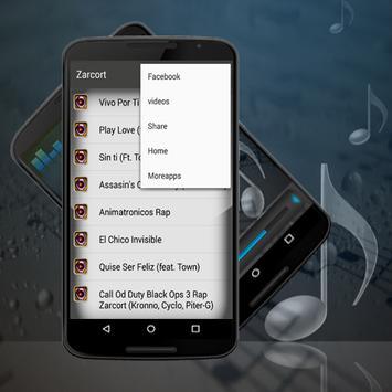 Zarcort Musica Mix Vivo Por Ti screenshot 1