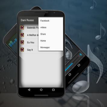 Letras Dani Russo Batendo Palma Musica apk screenshot