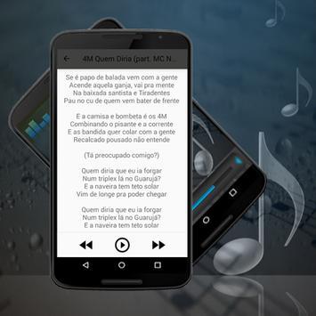 MC Leo Da Baixada Rasgando a Madrugada Musica 2017 apk screenshot