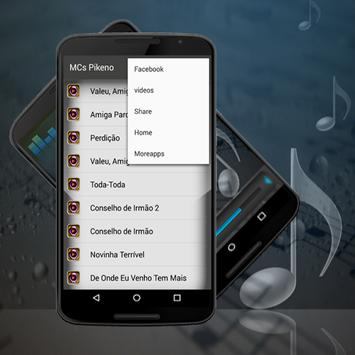 MCs Pikeno Toda Toda Top Musica apk screenshot