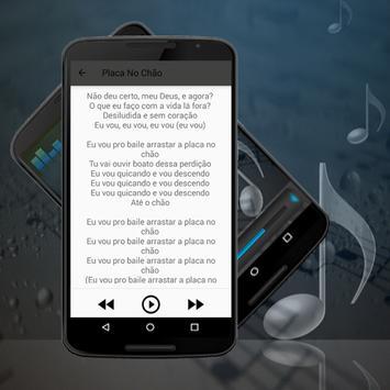 MC Tati Zaqui -  Placa no Chão Letras 2017 apk screenshot