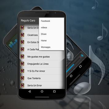 Regulo caro All Song-Letras Sería Un Error apk screenshot
