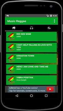 Music Reggae Mp3 + Lyrics apk screenshot