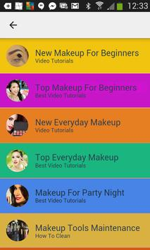 New Makeup Video Tutorials apk screenshot