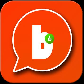 new chat for badoo poster