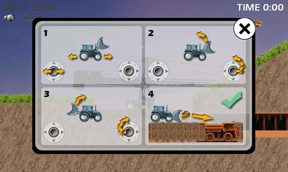 Traktor Digger and Gold poster