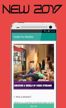 New Mobdro Online TV Reference apk screenshot