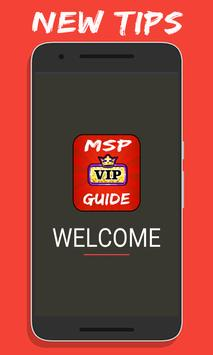 Tips For MSP VIP poster