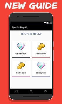 Tips For MSP VIP apk screenshot