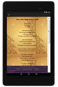 Newsboys Lyrics apk screenshot