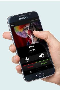 Fake Call Clown Prank screenshot 2