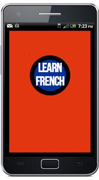 Learn French poster