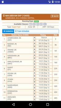 Railinfo - indian railway enquiry apk screenshot