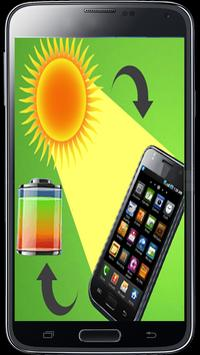 Mobile Solar Charger Prank poster