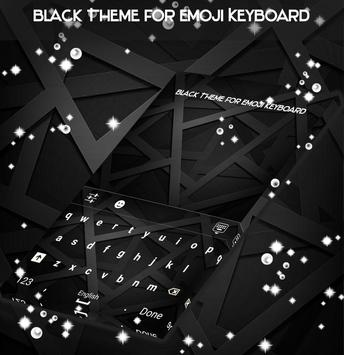 Black Theme for Emoji Keyboard apk screenshot