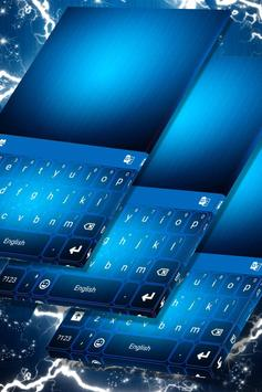Blue Theme for Keyboards poster