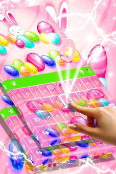 Cute Bunny Keyboard apk screenshot