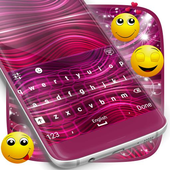 Purple Skin for Emoji Keyboard icon