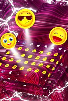 Purple Skin for Emoji Keyboard screenshot 4