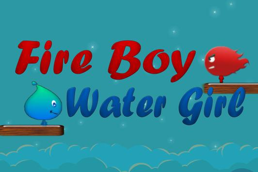 Pixel Fire Boy And Water Girl poster