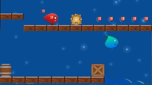 Pixel Fire Boy And Water Girl screenshot 1