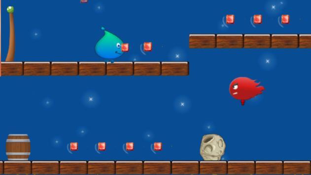 Pixel Fire Boy And Water Girl screenshot 2
