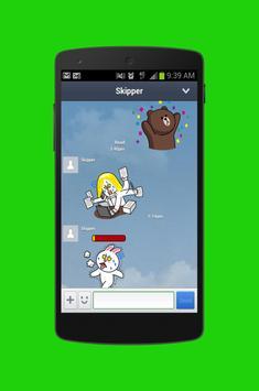 Frее Line Messenger App tips poster