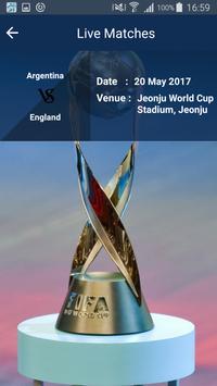 Schedule of FIFA World Cup U20 apk screenshot