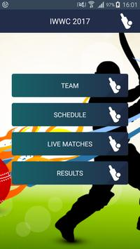 Schedul of ICC Women World Cup poster