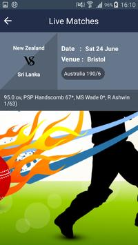 Schedul of ICC Women World Cup apk screenshot
