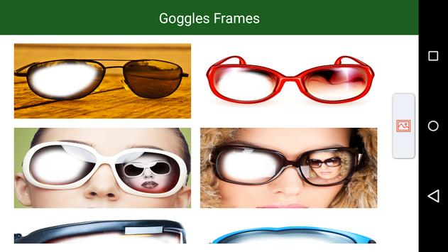Goggles Frames poster