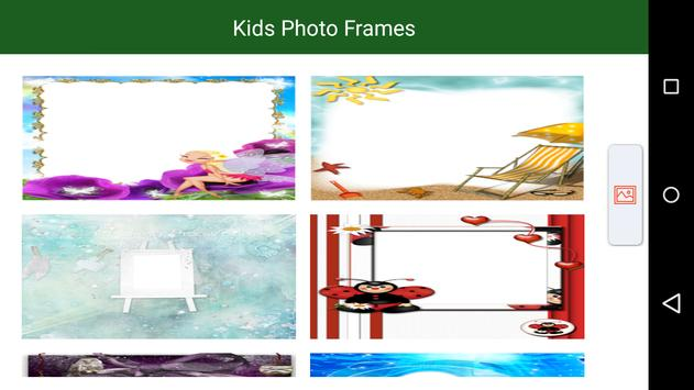 Kids Photo Frames poster