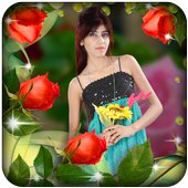 Rose Photo Frame icon