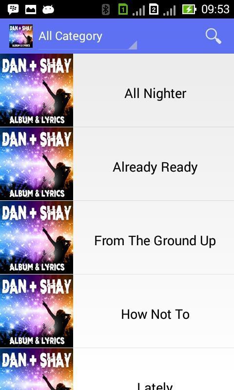Dan + Shay - Lyrics for Android - APK Download