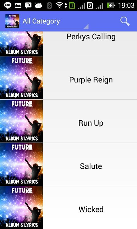 Wicked Future - Lyrics for Android - APK Download