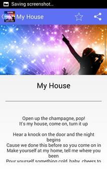 Flo Rida My House - Lyrics poster
