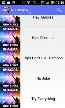 Shakira Try Everything - Lyric screenshot 1