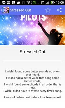 Twenty One Pilots Stressed Out poster