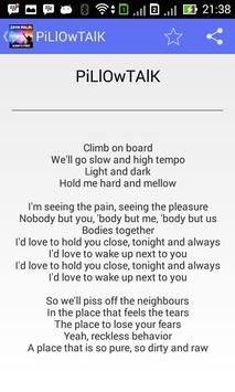 Zayn Malik Pillowtalk - Lyrics poster