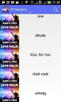 Zayn Malik Pillowtalk - Lyrics screenshot 2