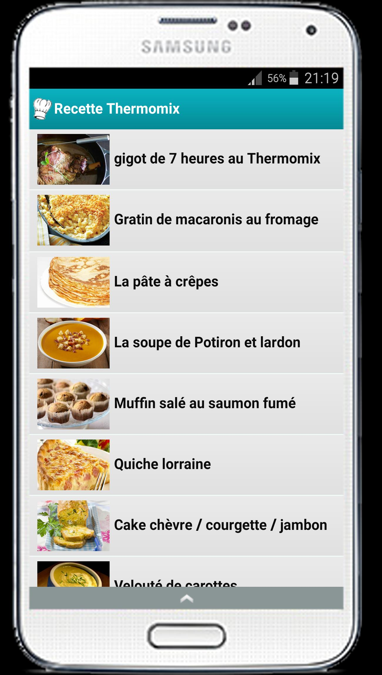 Repas Thermomix Entre Amis recette thermomix facile et rapide for android - apk download