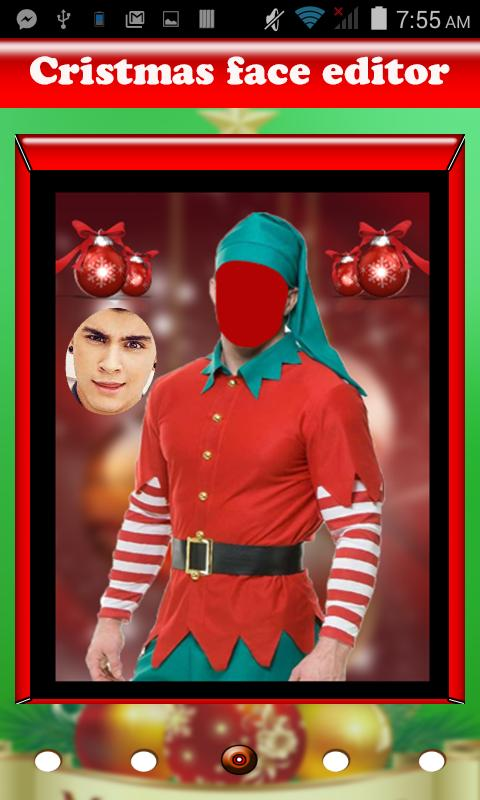 christmas  face Photoeditor 2019 poster