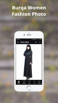 Burqa Women Fashion Photo Frame: Burqa Women Style screenshot 2
