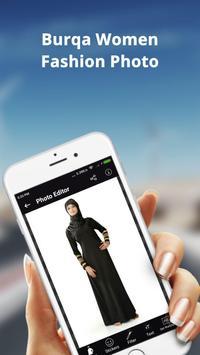 Burqa Women Fashion Photo Frame: Burqa Women Style screenshot 3