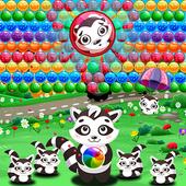 Bubble Shooter Raccoon icon