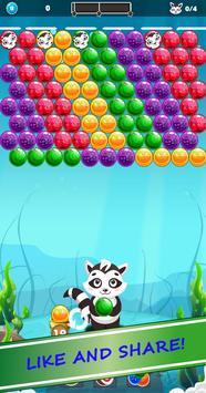 Bubble Shooter Raccoon screenshot 3