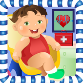 New born Baby Maternity Doctor icon